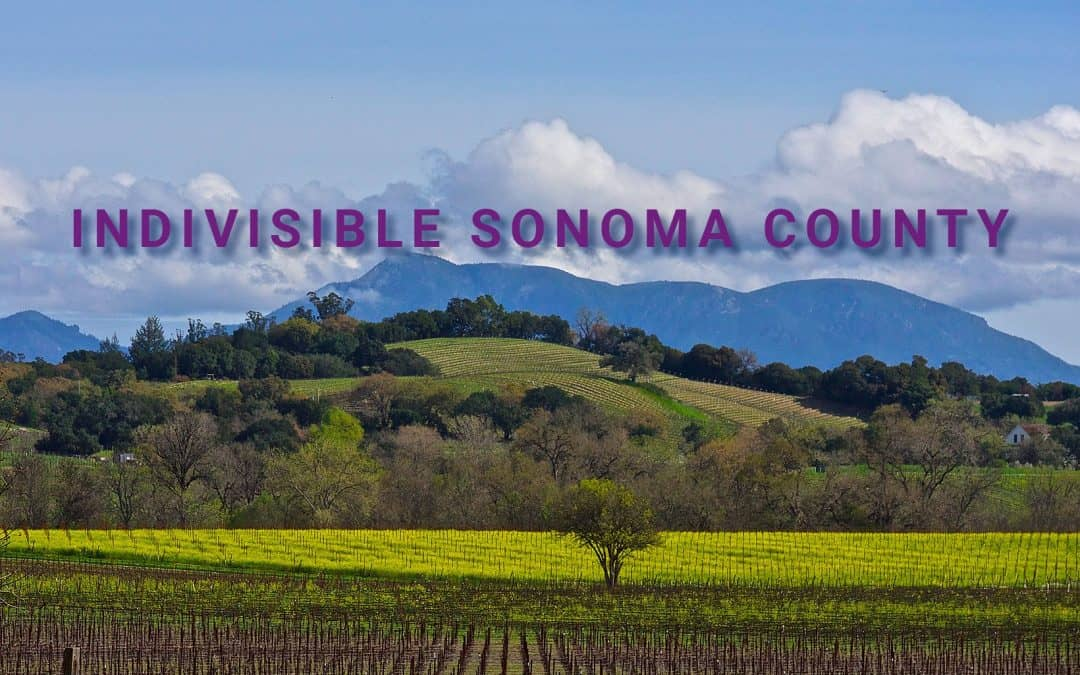 Indivisible Sonoma County MoC Team Meeting with Rep. Mike Thompson