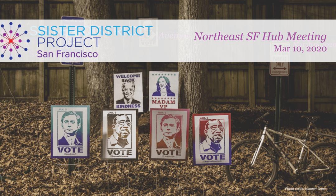 Northeast SF Sister District Meeting