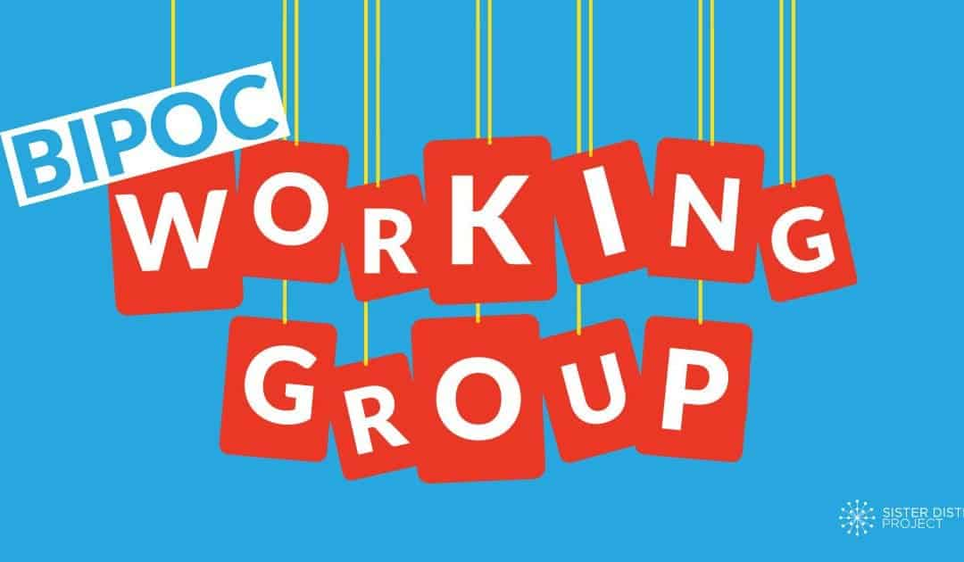 Sister District BIPOC Volunteer Working Group